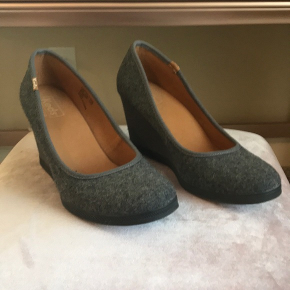 "4fe6742b46f Keds Shoes - Keds ""Damsel Wool"" Wedge Rare"